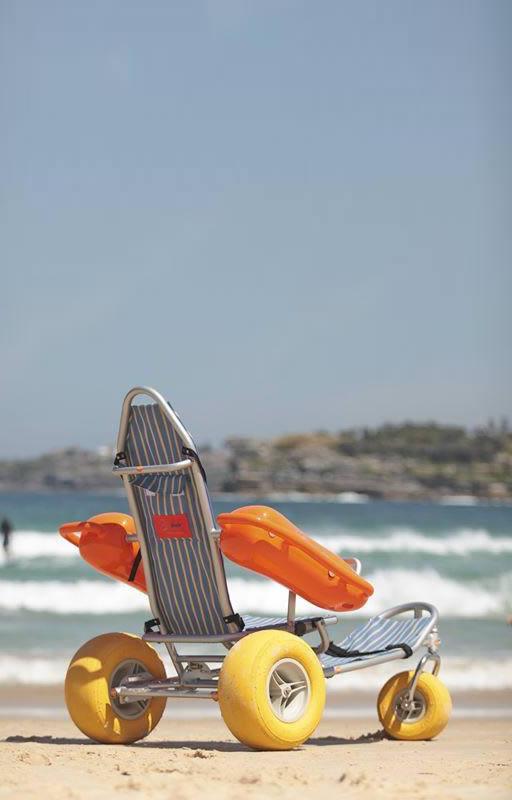 'Mobi-Chair® Floating Beach Wheelchair