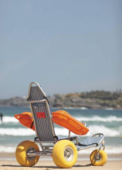 'Mobi-Chair® Floating Beach Wheelchair